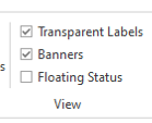 Floating Status checkbox in DotActiv