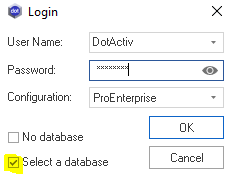 Setting Up A Database
